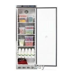 Polar Single Door Refrigerator Digital Control Panel Stainless Steel 400L