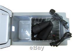 Portable Compressor Fridge Freezer 12V 24V 240V 52L with Bag Electric Camping