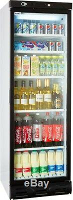 Prodis XD380 Hinged Single Glass Door Display Refrigerator (Boxed New)