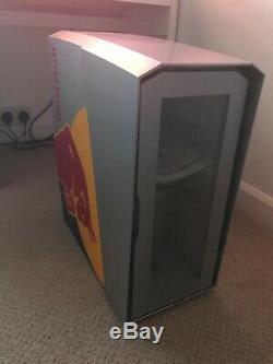 Red Bull Mini Fridge ECO LED Slim Countertop Display
