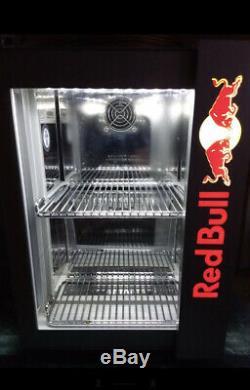 Red Bull Mini Fridge For Cold Drinks For Pub Home Garden Garage 220V-240V 3D