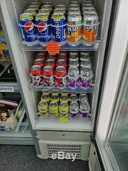 Retro Coca Cola Single Glass Door Drink Display Fridge