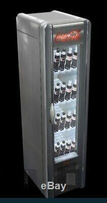 Retro Coca Cola Single Glass Door Drink Display Fridge 3rd Generation