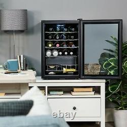 Russell Hobbs RHGWC4B-LCK 62L Black Lockable Freestanding Wine & Drinks Cooler