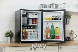 Russell Hobbs RHTTF67B 67L Black Table Top Mini Fridge & Cooler with Ice Box