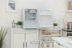 Russell Hobbs RHTTF67W 65L Reversible Doors Table Top Mini Fridge/Cooler, White