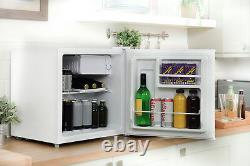 Russell Hobbs RHTTLF1 43L Table Top Mini Fridge and Cooler White, Refurbished A+
