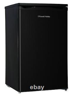 Russell Hobbs RHUCLF2B 50cm Wide 112L Black Under Counter Larder Fridge Grade A