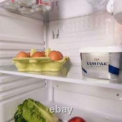 SIA Freestanding White Under Counter Larder Fridge & Freezer A+ Energy Rating