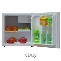 SIA TT01WH 49L Mini Fridge With Ice Box In White, Beer & Drinks Cooler