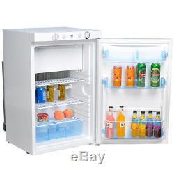 SMAD 100L Propane Fridge Freezer LP Gas 220V 12V 3-Way Cooler Caravan Motorhome