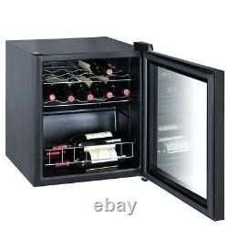 SMAD 16 Bottles Wine Cooler Wine Fridge Touch Screen LED 46 Litre Wine Cellar