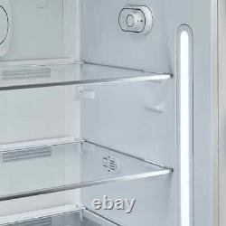 SMEG FAB28ROR3 Refrigerator + Freezer 50`S Retro Style Orange 270L A