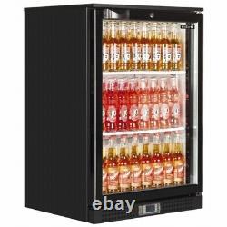 Single Door Back Bar Beer Wine Cooler Bottle Man Cave Fridge & Free Delivery