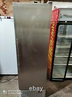 Single door commercial fridge silver. Takeaway/restaurant