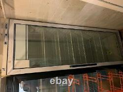 Single glass door Bottle chiller used for chilled foods as well