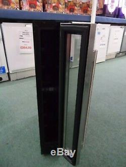 Slimline Wine Cooler Fridge Under Counter 15cm FWC153SS UK Stainless Steel