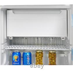 Smad 3 Way 100 L Gas Absorption Refrigerator 12 V Caravan Camper Fridge Freezer