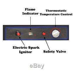 Smad 3 Way 40 L Gas Absorption Caravan Fridge Motorhome Campervan LPG/Mains/12V