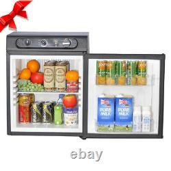 Smad 3 Way 43 L Absorption Gas Caravan Fridge Campervan AC/LPG/12V Refrigerator