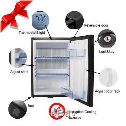 Smad 40 L DC/AC Absorption Fridge Caravan Campervan Truck Refrigerator Lockable