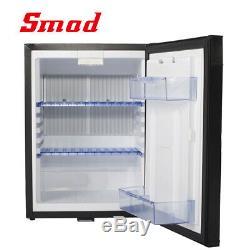 Smad 40L 2 Way Mini 12V Fridge Campervan Refrigerator RV Car Travel Cooler Lock