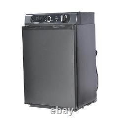 Smad 43L 3 Way RV Fridge Camper Absorption Propane Refrigerator Gas/AC/DC12V
