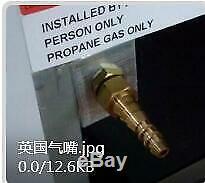 Smad 60L 3 Way Absorption Fridge Propane Gas 12V/230VCaravan Motorhome Leisure