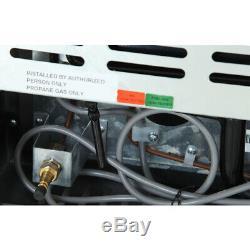Smad 70 Litre Caravan Motorhome RV 3 Way Absorption Freezer Fridge LPG/240V/12V