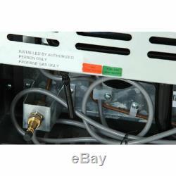 Smad 70L 3 Way Absorption Freezer LPG/240V/12V Motorhome Campercan RV Gas Fridge