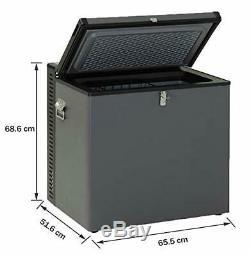 Smad AC DC 70 L Gas RV Caravan 12V Truck Freezer Absorption Camper Refrigerator