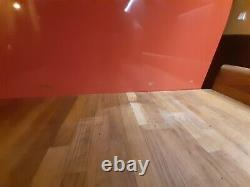 Smeg FAB28YR1 60cm Wide Retro Style Left Hinge Freestanding Fridge RED