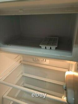 Smeg black fridge freezer
