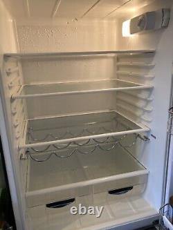 Smeg fridge freezer black