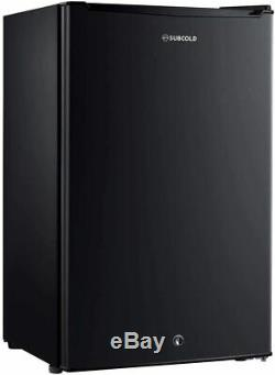 Subcold Eco100 Under Counter Fridge 100 Litre Black With Ice Box & Lock