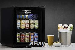 Subcold Super 50 LED Refurbished'A Grade' Mini Drinks Beer Fridge Black