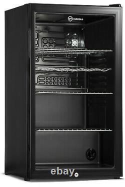 Subcold Super 85 LED Black Refurbished Grade B Beer & Wine Fridge 0-10 °C