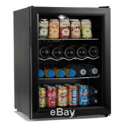 Subcold Super65 LED Drinks & Beer Fridge Black Wine Snacks mancave Fridge
