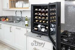 Subcold Viva20 LED Wine Fridge Black 3-18°C 20 Bottle