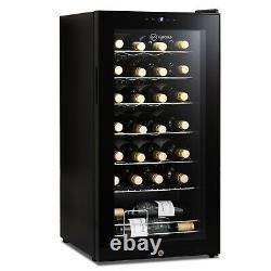 Subcold Viva28 LED Refurbished Grade B Wine Fridge Black 5-18°C 28 Bottle