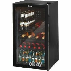 Swan SR12030BN Free Standing A+ Wine Cooler Fits 20 Bottles Black New from AO