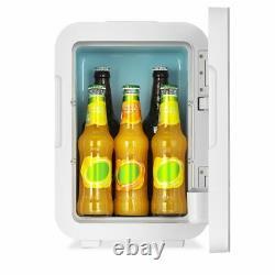 Tabletop 10L Mini Fridge Ice Box Freezer Portable Drink Beer Cooler Warmer Car