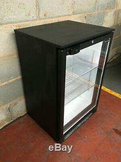 Tefcold Single Door Drinks Display / Under Counter Bar Chiller LED
