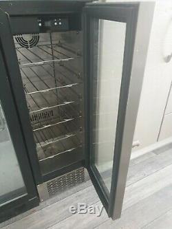 Under counter wine cooler fridge
