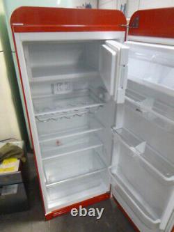 Used Smeg FAB28RDMC Mondrian 50's Style Fridge With Icebox (JUB-107) RRP£1699