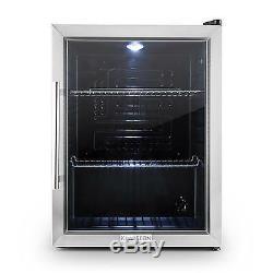 Wine Cooler Refrigerator Compact Beer Mini bar Fridge drinks chiller 65 L Home