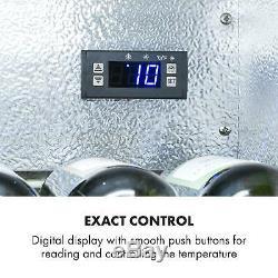 Wine Fridge Beer cooler drinks chiller Bar Refrigerator 133 L Auto defrost Black