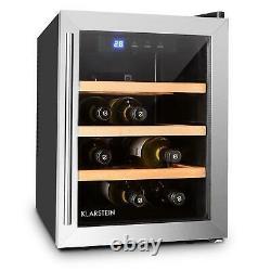 Wine cooler Fridge Refrigerator 33 Litre 9 Bottles Mini Bar Home Shop Office
